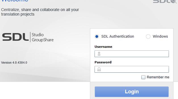 SDL Trados GroupShare 2015 SR1とその後のCU2リリース