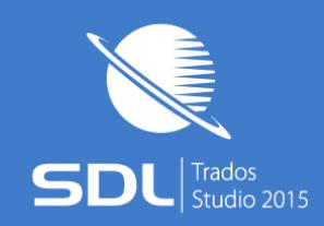 SDL Trados Studio 2015 新機能「訳文ファイルからの更新」を試してみました
